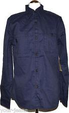Replay Hemd  Work Shirt  Gr. M  Blau  M  Jeanshemd  NEU