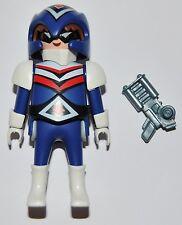 S02H12 Futurista playmobil,serie 2 5157,future man,capitán américa