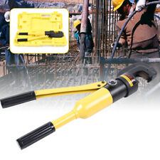 Hy 22 12 Ton Professional Handheld Hydraulic Rebar Cutter Cuting 4 Mm To 22 Mm