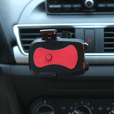 360° Red Mobile Cell Phone Car Air Vent Condition Mount Cradle Holder Stand Clip