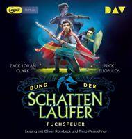 BUND DER SCHATTENLÄUFER-TEIL 1: FUCHSFEUER - CLARK,ZACK LORAN;  CD NEW