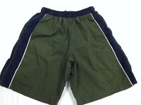 SPEEDO Boy's Swim Trunks Size Small Green Lined Bathing Suit