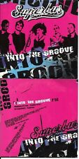 CD CARTONNE CARDSLEEVE COLLECTOR 1 TITRE SUPERBUS INTO THE GROOVE (MADONNA) 2003