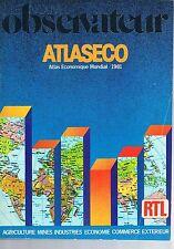 Le Nouvel Observateur   Atlaseco 1981 : Atlaseco 1981