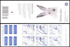 H582 Sweden 2009 Scott# 2625d MNH booklet Christmas White animals bird hare