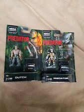 Mega Construx Predator Black Series Wave 2 Predator and Dutch NEW Sealed