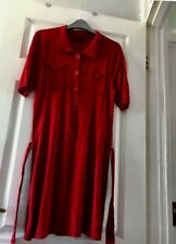 A Good Condition Size 12 BETTY BARCLAY COLLECTION soft Jumper Dress