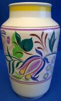 POOLE POTTERY ELABORATE TV PATTERN SHAPE 595 VASE