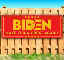 Biden Make China Great Again Advertising Vinyl Banner Flag Sign Usa Trump