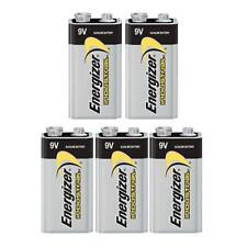 5x Energizer 6LR61 Industrial 9 Volt Batteries Long-lasting Alkaline Battery