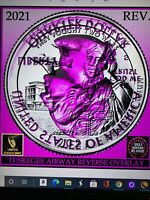 2021 P Tuskegee Airmen ATB BU Quarter Clashed Die Error Coin- Best Of Show!