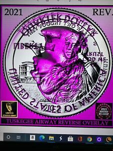 2021 P Tuskegee Airmen ATB Quarter Clashed Die Error Coin- Best Of Show!