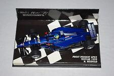 Minichamps F1 1/43 Prost Grand Prix Peugeot AP02 1999 Test Voiture Heidfeld