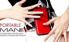 Kupa -Mani-Pro Passport Portable Nail Drill (Red) - 110v and 220v