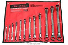 12pc Large Offset Ring Spanner Set 6-32mm Garage Workshop Spanners Tool Set New
