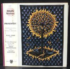 Prokofiev Concerti violon Isaac Stern Bernstein Mitropoulos LP NM, CV VG++