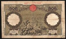 ITALY 100 LIRA P55 1938 EAGLE WOLF VICTORY ANIMAL CURRENCY MONEY EURO BANK NOTE