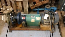 Goulds NM 3196 3x4-8G Non Metallic Pump with motor and Base