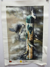 JUSTIN SPARKS STANDING ROOM ONLY PAINTING IGI BIRDS PAINT ART 9104 HUMMINGBIRD