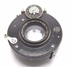 "Hugo Meyer & Gorlitz 6 1/4"" f9 Wide Angle Aristostigmat Large Format Lens  0439"