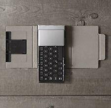 Folding Keyboard with Bluetooth - Restoration Hardware - Retail $60.00