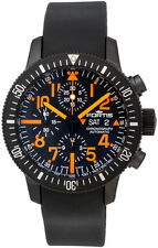 Fortis B-42 Black Mars 500 Automatic Chrono Mens Watch Limited Ed 638.28.13.K