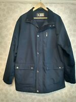 "Very Smart Navy blue FARAH Weekend Jacket large 44"" Large RRP £85 Fleece Lined"