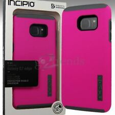 INCIPIO DualPRO Drop Protection Cover Case for Samsung Galaxy S7 EDGE Pink Gray