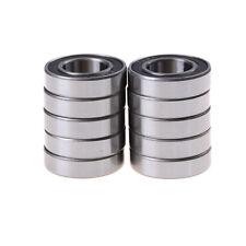 10x 6902-2RS Bearing 15x28x7 mm Metric Thin Section Ball Bearings 6902RS  FsSCAU