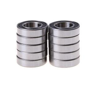 10x 6902-2RS Bearing 15x28x7 mm Metric Thin Section Ball Bearings 6902RH*ws