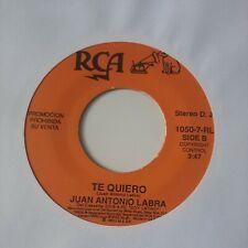 Juan Antonio Labra Te Quiero RCA VG #2257
