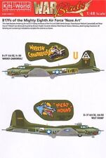 Kits World Decals 48012 1:48 Boeing B-17F Flying Fortress Eighth Air Force 3