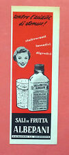 C525-Advertising Pubblicità-1959 - SALI DI FRUTTA ALBERANI