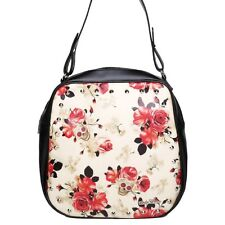 Lucky 13 purse bag vintage rose pin up tattoo skull floral studded western