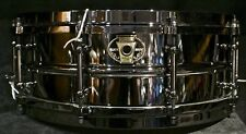 "Ludwig drums Black Magic 5.5"" x 14"" Black Nickel over Brass shell snare LW5514"