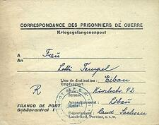POW Camp 131 Clermont France 1947 German Prisoner of War Kriegsgefangenenpost 11