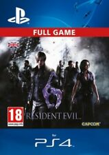 Resident Evil 6 DLC Full Game Remastered HD Version PS4 - SAME DAY DISPATCH