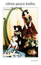 Elinor Peace Bailey Doll Paper Pattern Soft Art Sculpture CHOICE New Uncut