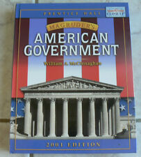 Prentice Hall Magruder's AMERICAN GOVERNMENT 2001 Text  McClenaghan