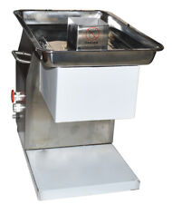 Brand NEW Stainless Meat Cutting Machine with 5mm blade TECHTONGDA US