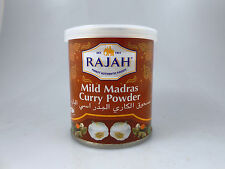 Rajah Mild Madras Curry Powder Spice 3.5oz/100g Packed in England USA SHIP FAST