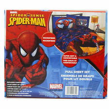 Amazing Spider-Man FULL 3 Piece Sheet Set Marvel Comics Cotton Rich 106629 FULL