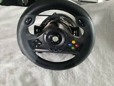Xbox 360 Controller Racing Steering Wheel Complete Hori EX2 TESTED