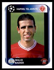 Panini Champions League 2010-2011 Walid Badier Hapoel Tel-Aviv FC No. 126