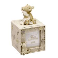Botón Esquina Resina Cubo Baby dinero Caja Con Foto Regalo cg750
