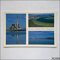 Power Station Port Augusta 3 Views Postcard (P459)