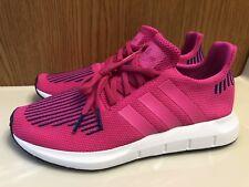 Adidas ORIGINALS Womens Swift Run Shoe CG4160 Shock Pink/Ultra Pop/White Sz 7
