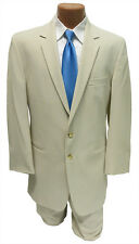 Boys Size 5 Tan Destination Beach Wedding Suit 2 Button Notch Jacket & Pants