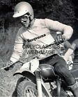 1971 ICONIC RACER MALCOLM SMITH HUSQVARNA MOTOCROSS MOTORCYCLE RACING 8X10 PHOTO
