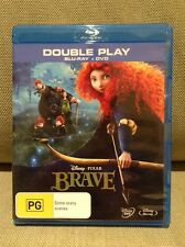 Disney pixar Brave Bluray only doesnt include DVD disc